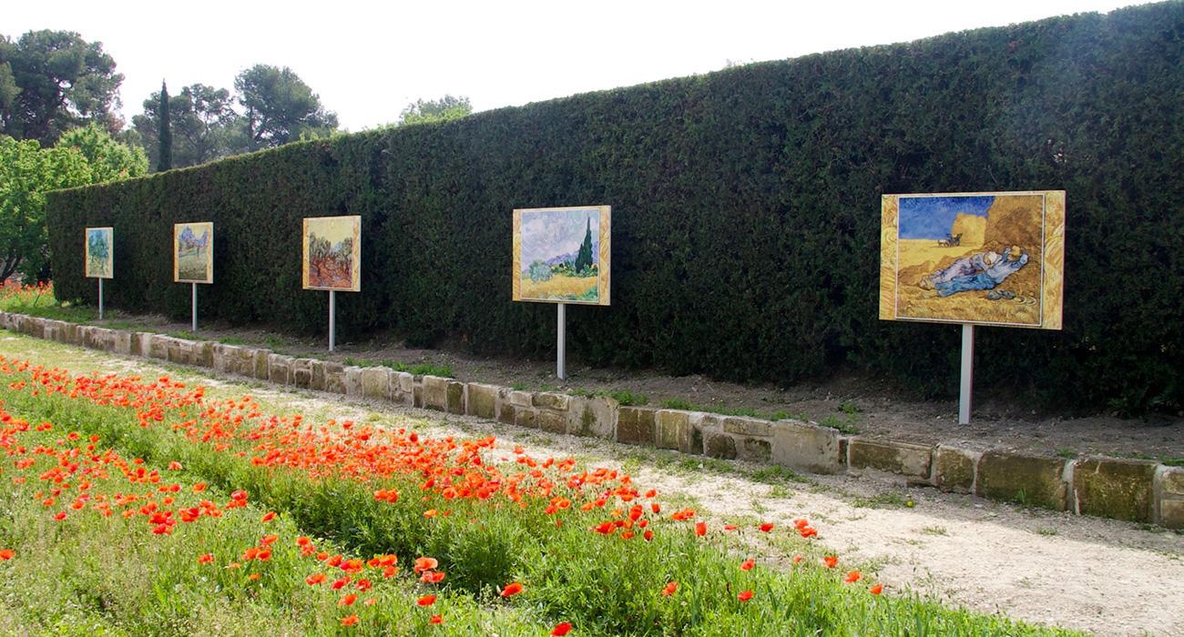 Reproduction d'oeuvres de Van Gogh pour l'association Valetudo
