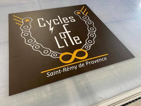 Panneau pour Cycles of Life