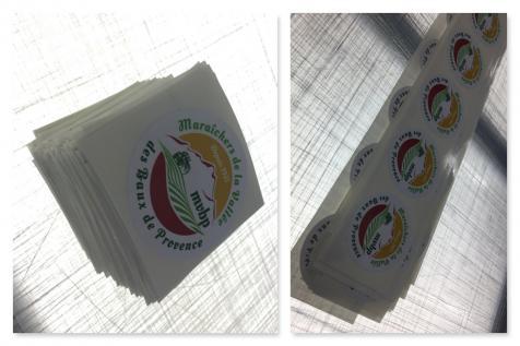 Stickers pour le Maraîchers de la Vallée des Baux de Provence